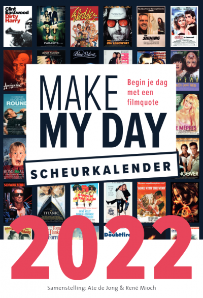 Film scheurkalender – Make My Day 2022 Grappige kalender
