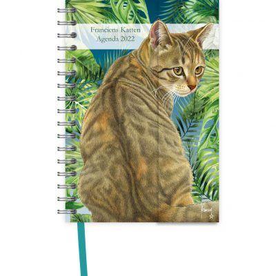 Franciens Katten Spiraalagenda Luxe 2022 – Jungle Bureau agenda