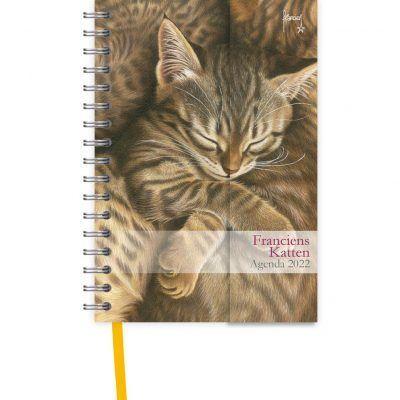 Franciens Katten Spiraalagenda Luxe 2022 – Kittens Bureau agenda