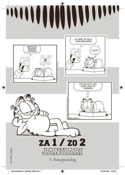 Garfield Scheurkalender 2022 Kalenders voor 2022