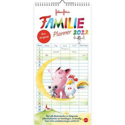 Helme Heine Familie maandplanner 2022 Familie kalender
