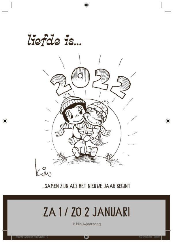 Liefde Is Scheurkalender 2022 Kalenders voor 2022
