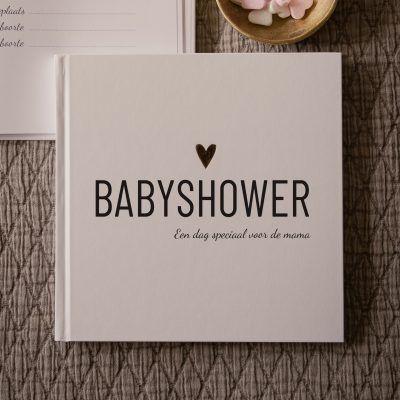 Lifestyle2Love Babyshowerboek Babyshower cadeau