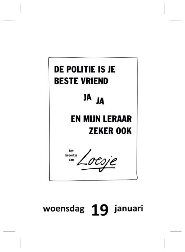 Loesje Scheurkalender 2022 Grappige kalender