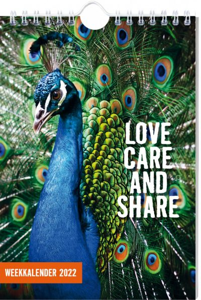 Love, care, and share Weekkalender 2022 Jaarkalender