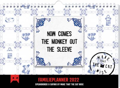 Make That The Cat Wise Familieplanner 2022 Familie kalender
