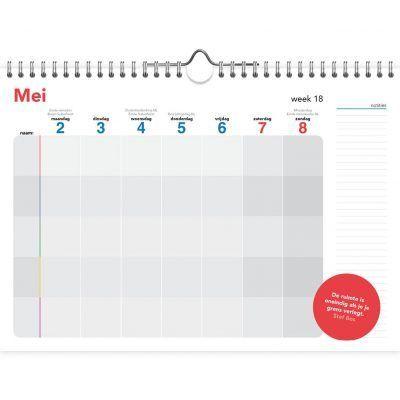Omdenken Familie weekplanner A4 2022 Familie kalender