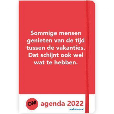 Omdenken Weekagenda 2022 Bureau agenda