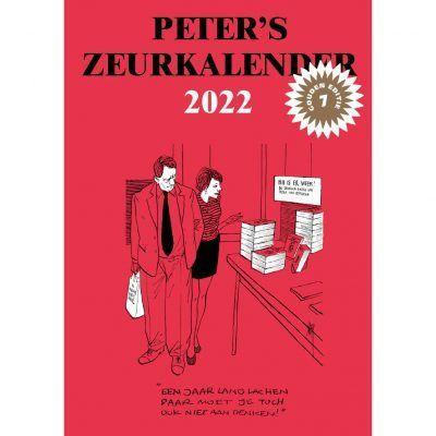 Peter's Zeurkalender 2022 – Peter van Straaten Grappige kalender