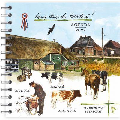 Rien Poortvliet Familie agenda 2022 – LldB Familie agenda