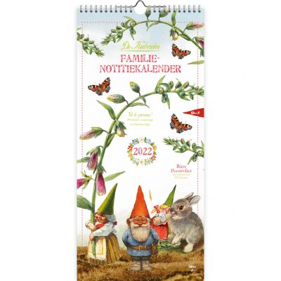 Rien Poortvliet Familie maandplanner 2022 – Kabouter Familie kalender