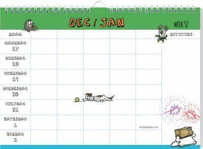 Simon's Cat Familieplanner 2022 Familie kalender