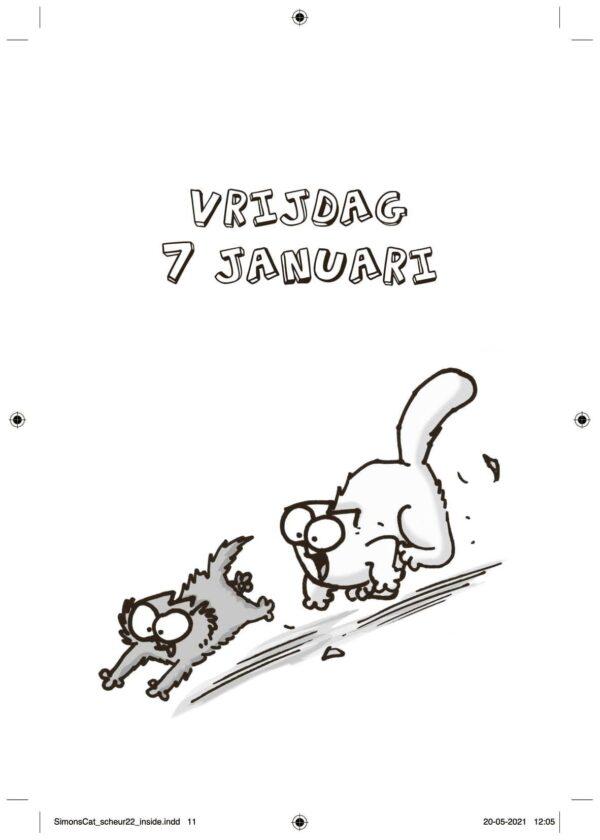 Simon's Cat Scheurkalender 2022 Dieren kalenders