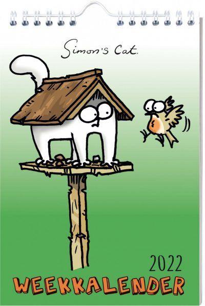 Simon's Cat Weekkalender 2022 Dieren kalenders