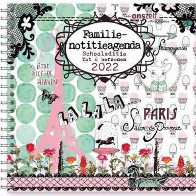 Studio Onszelf Familie agenda 2022 – Parijs – Schooleditie Familie agenda