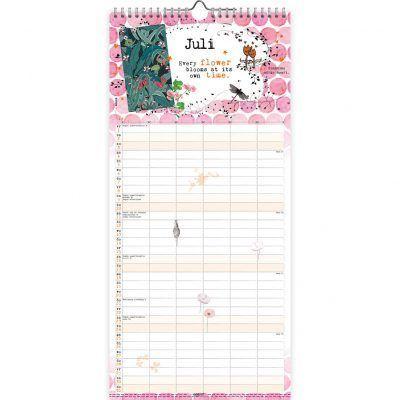 Studio Onszelf Familie maandplanner 2022 – Parijs Familie kalender