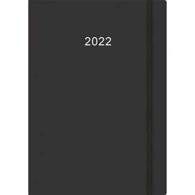Thuiswerkagenda A5 2022 – Zwart Bureau agenda