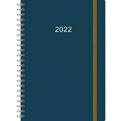 Thuiswerkagenda Groot 2022 – Blauw Bureau agenda