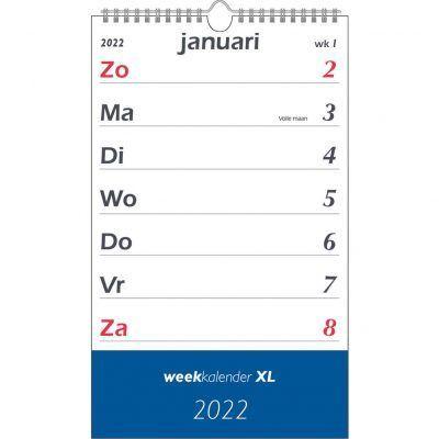Weekkalender XL 2022 Jaarkalender