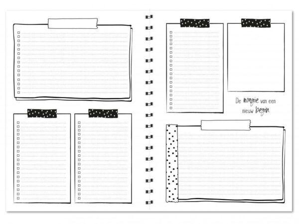 Winkeltjevananne Jaaragenda 2022 – Horizontale indeling – A5 Jaaragenda