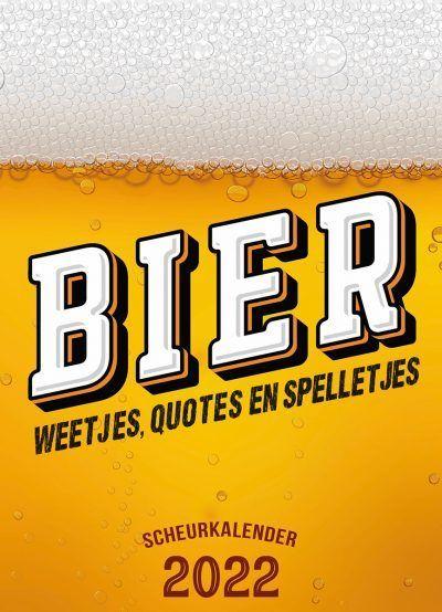 Bier Scheurkalender 2022 Kalenders voor 2022