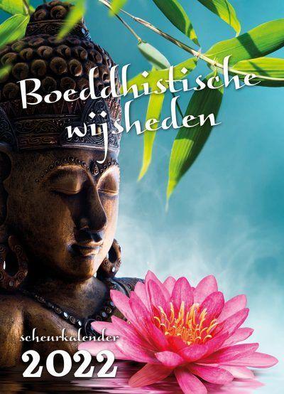 Boeddhistische wijsheden Scheurkalender 2022 Kalenders voor 2022