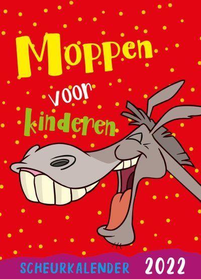 Moppen voor kinderen Scheurkalender 2022 Grappige kalender