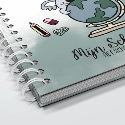 SilliBeads Mijn Schoolfoto's – Groen Schoolfotoboek