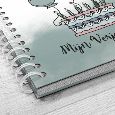 SilliBeads Mijn Verjaardagen Invulboek Cadeauboeken