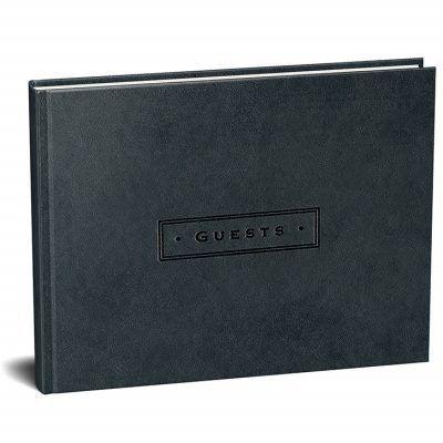 Peter Pauper Gastenboek Artisan Classic Black Gastenboek