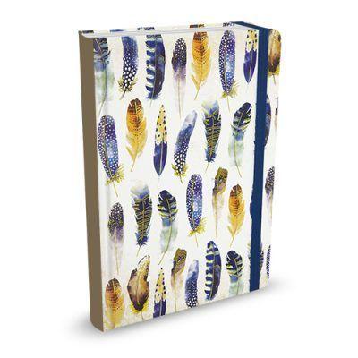 Peter Pauper Notitieboek Watercolor Feathers – A5 (mid size) Notitieboek