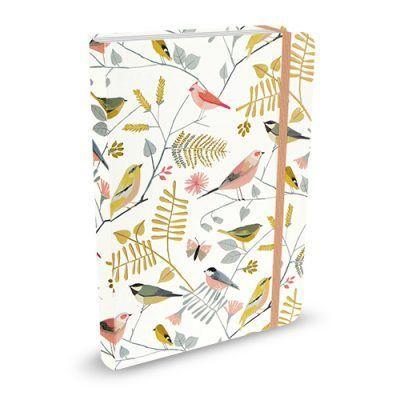 Peter Pauper Notitieboek Songbirds – A6 (compact) Notitieboek