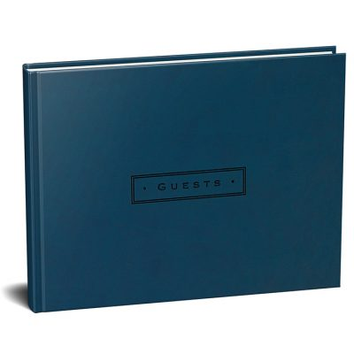 Peter Pauper Gastenboek Artisan Classic Midnight Gastenboek