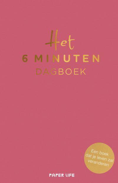 Het 6 minuten dagboek – Roze 6 minuten dagboek
