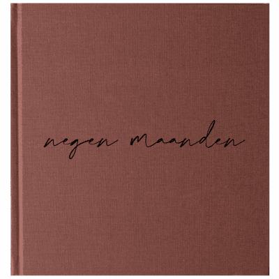 KIDOOZ Negen maanden dagboek – Linnen Roest 9 maanden dagboek