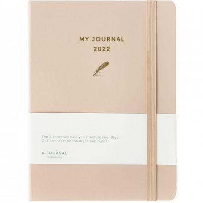 My A-Journal Jaaragenda 2022 – Beige Jaaragenda