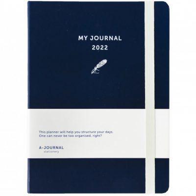 My A-Journal Jaaragenda 2022 – Donkerblauw Jaaragenda
