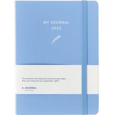 My A-Journal Jaaragenda 2022 – Lavendel Blauw Jaaragenda
