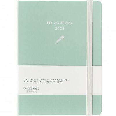My A-Journal Jaaragenda 2022 – Mintgroen Jaaragenda