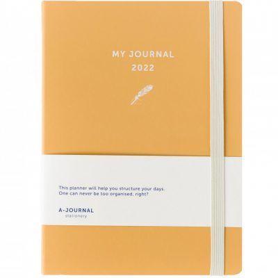 My A-Journal Jaaragenda 2022 – Peach Jaaragenda