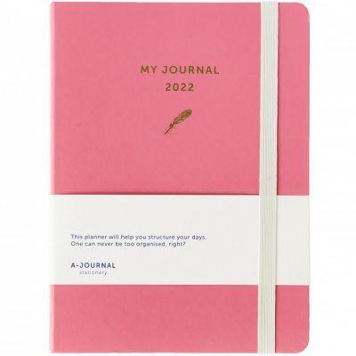 My A-Journal Jaaragenda 2022 – Roze Jaaragenda