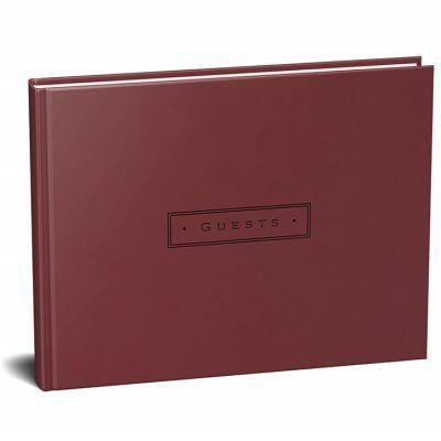 Peter Pauper Gastenboek Artisan Burgundy Gastenboek