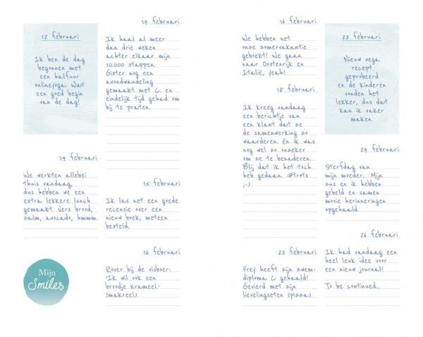 Smile journal Dagboek voor volwassenen