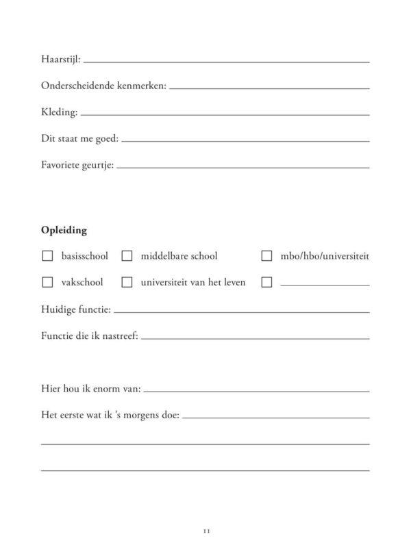 Tijd voor jezelf Dagboek voor volwassenen